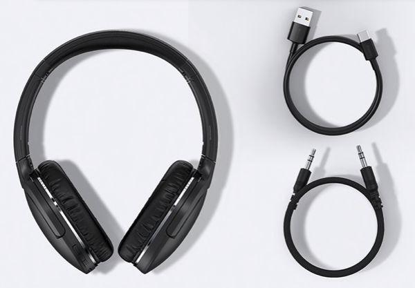 Fone de ouvido Baseus D02 PRO bluetooth com noise reduction