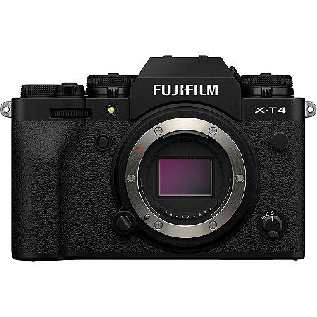 Câmera FUJIFILM X-T4 BLACK