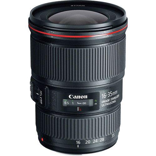 Lente CANON EF 16-35mm f/4L IS USM