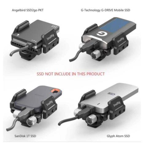 SmallRig Suporte para SSD Universal