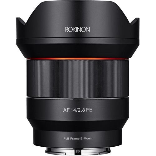 Lente ROKINON AF 14mm f/2.8 FE para SONY