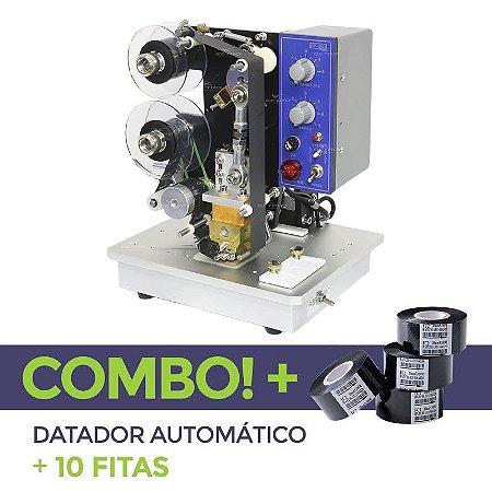 Datador Automático + 10 Fitas Datadoras
