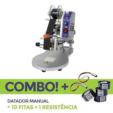 Datador Manual + 10 Fitas Datadoras + 1 Resistência Reserva