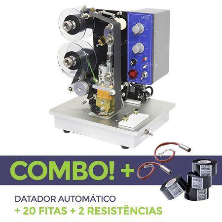 Datador Automático + 20 Fitas Datadoras + 2 Resistências Reservas