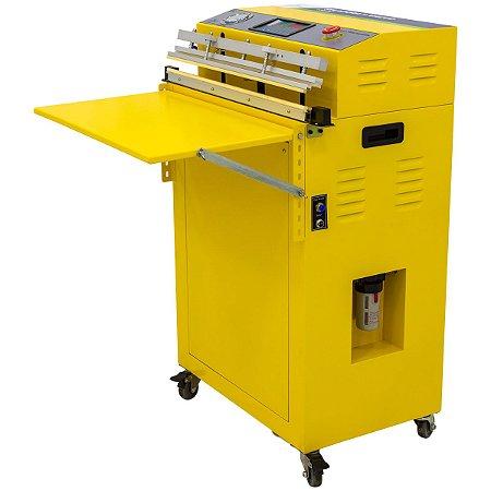 Seladora a Vácuo de Bico de Sucção Industrial 60CM automática C/ A-T-M VS600
