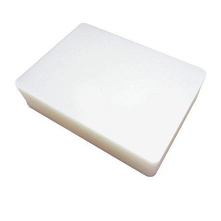 plástico polaseal para plastificação tamanho a4 100un 220x307mm