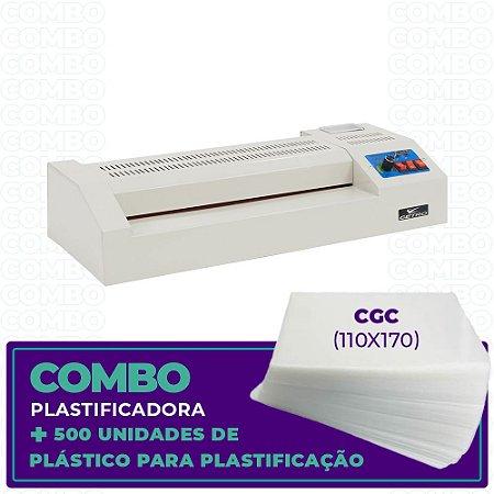 Plastificadora + 500 Unidades  (CGC - 110x170)