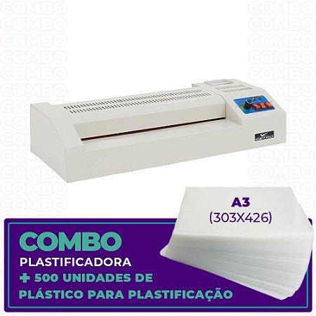 Plastificadora + 500 Unidades (A3 - 303x426)