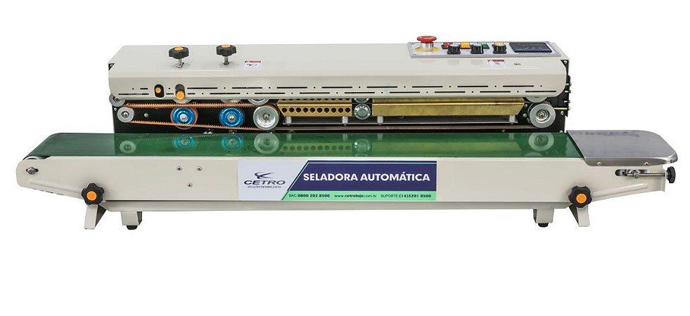 Seladora Automática Continua Horizontal com Datador - Mod: FRD1200C