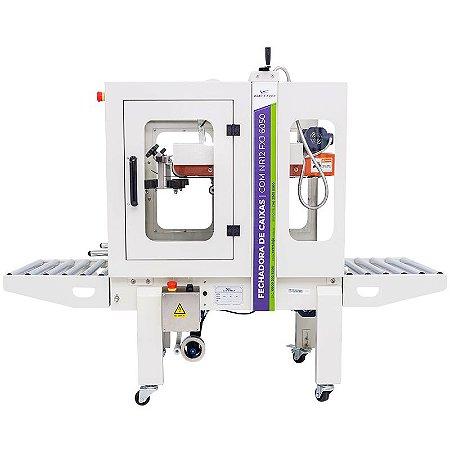 Fechadora de caixas com tração inferior e superior FXJ-6050 / NR12 - 48mm