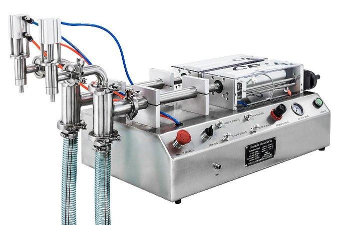 Envasadora de Liquidos 2 bicos CETRO 10-100 ML