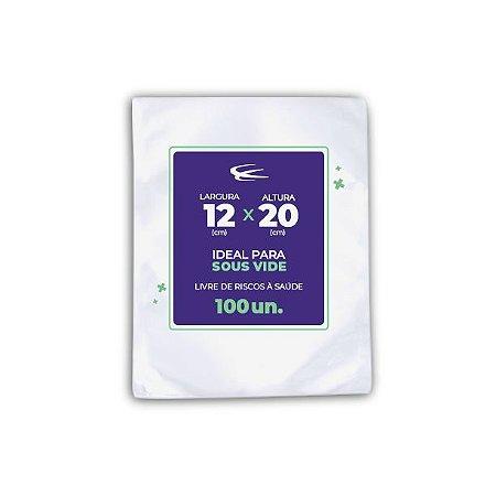 Embalagem Sous Vide 12x20 - 100 Unidades