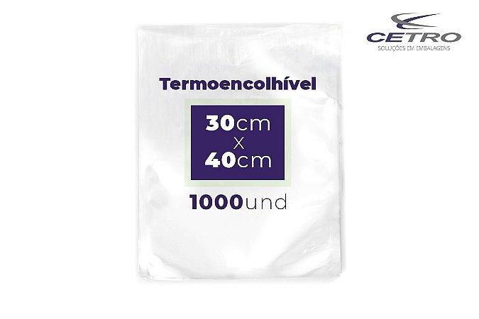 Embalagem a vácuo Termo Encolhível 8 micras 30x40 - 1000 und