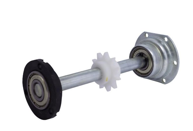Eixo de Tração da esteira com Engrenagem SA1000 e SA900