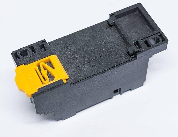 Base Para Rele Auxiliar C/ 4 Contatos Reversíveis