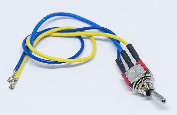Chave de Acionamento Manual /Automático 3 pinos para Datador Automático Elétrico