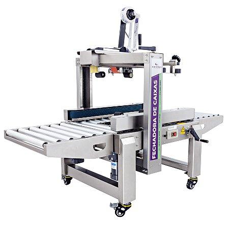 Fechadora de Caixas com Tração Lateral de Inox FXC 5050