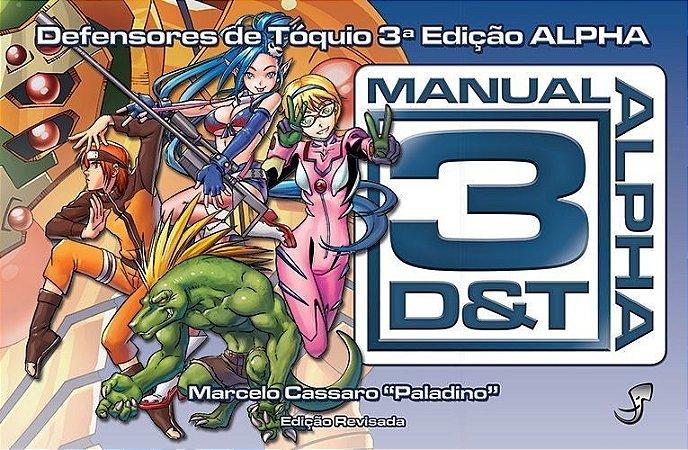 Manual 3D&T Alpha — Edição Revisada