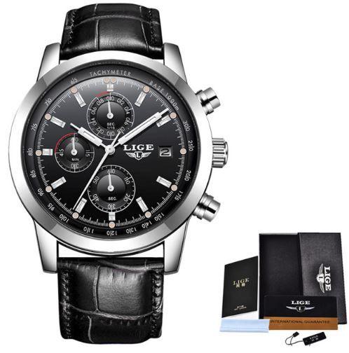 b0f38d2ab15 Relógio de Luxo Masculino Lige 202 - Omega importados