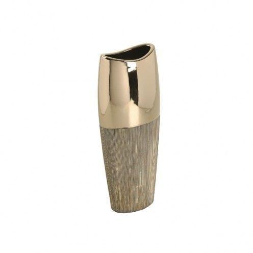 Vaso - Porcelana Prata M-02