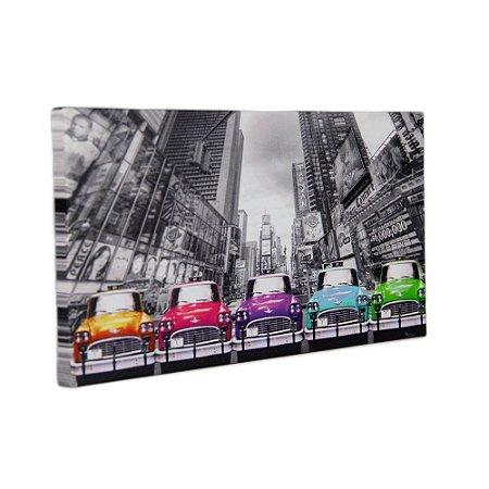 Quadro Decorativo - Color Car - 15x30cm