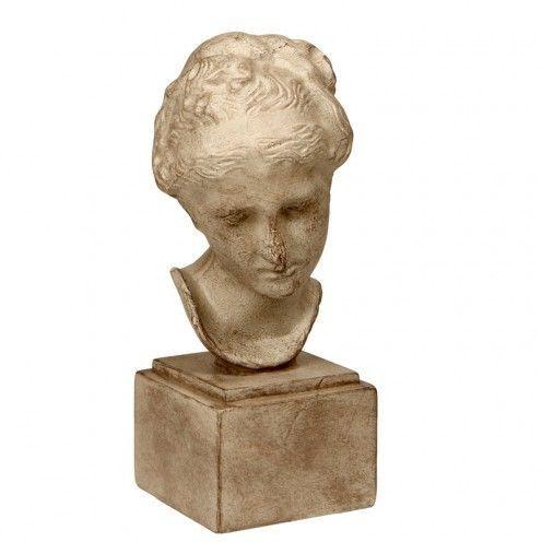 Estatueta - Rosto de Mulher