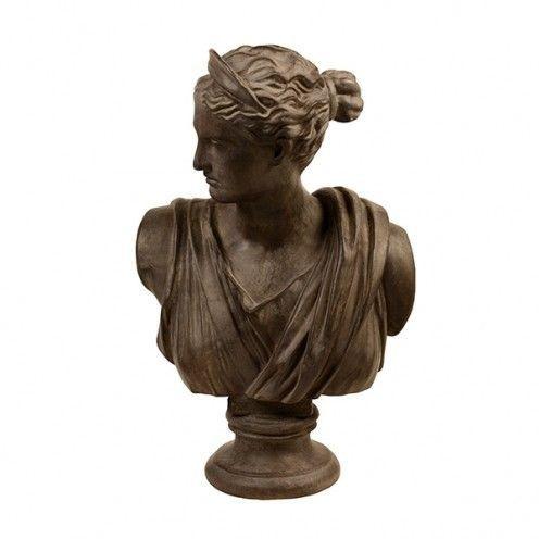 Estatueta - Busto de Mulher Classica