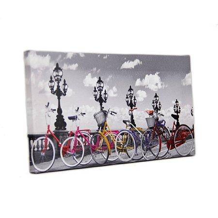 Quadro Decorativo - Color Bike - 15x30cm