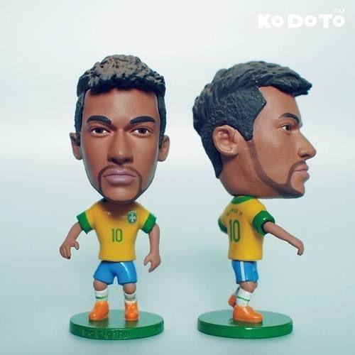 Mini Craque Neymar Seleção Brasileira