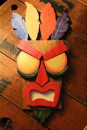 Quadro decorativo Aku aku - Crash Collection