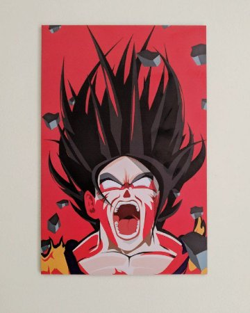 Placa Decorativa Goku