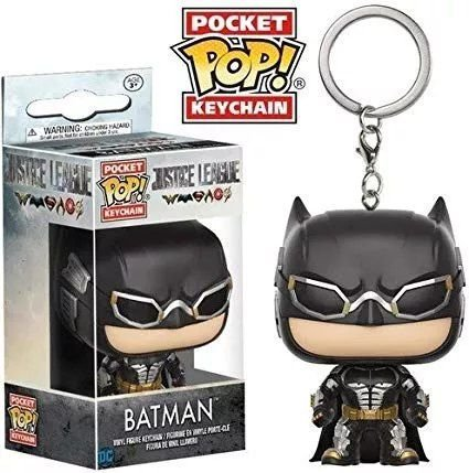 Chaveiro Pocket Pop! Batman - Liga da Justiça