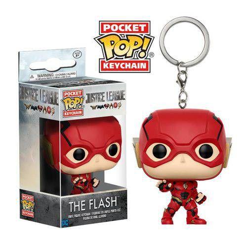 Chaveiro Pocket Pop! The Flash - Liga da Justiça