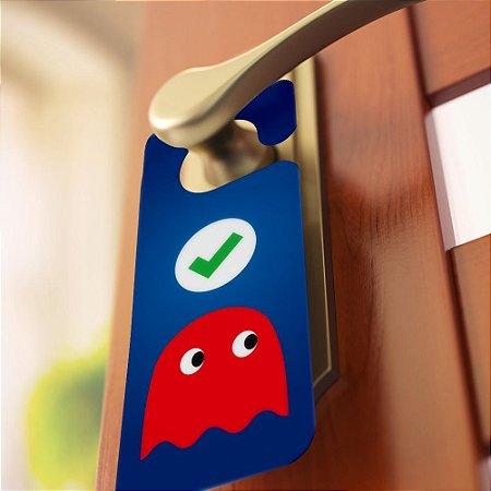 Aviso de porta: Fantasmas (Pac-man)