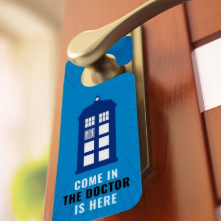 Aviso de porta: The Doctor is Here (Doctor Who)