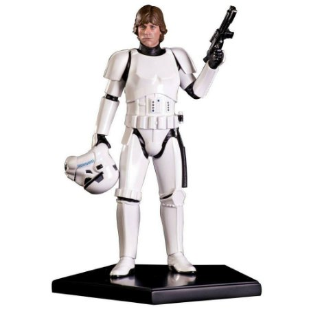 Luke Skywalker Stormtrooper Disguise  Star Wars - Iron Studios