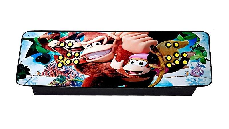 Fliperama Portátil c/ Sistema (+ de 8 mil jogos)