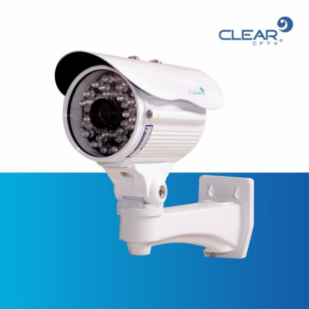 Câmera Bullet AHD - 1.0 megapixel - 720P - infra Red 45 m - lente de 4.6 mm - METAL IP66.