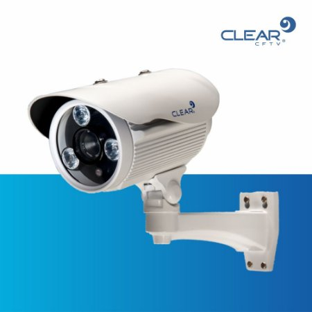 Câmera Bullet AHD - 720P - Super LED 03 - Lente de 16 mm - METAL - IP66