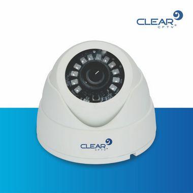 Dome Plástico L12 IP 3.0 Megapixel  - Resolução de 2.048 x 1.536P - infra Red 20 mts, lente de 3.6mm - PLÁSTICA - LED SMD BRANCA