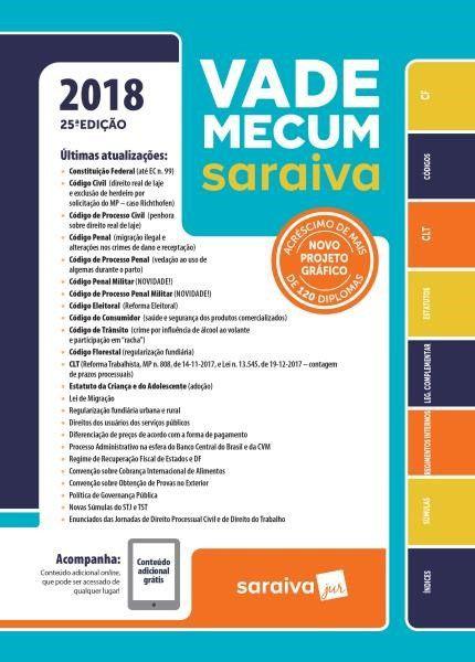 Vade Mecum Tradicional - 25ª Ed. 2018
