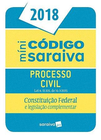 Minicódigo De Processo Civil - 24ª Ed. 2018