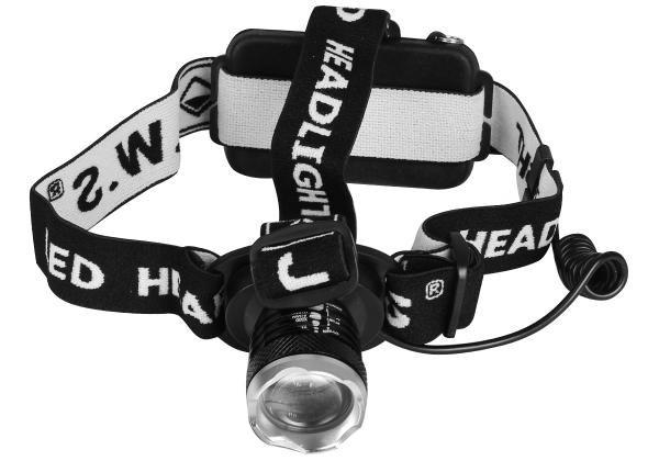 Lanterna de Cabeça JWS Mod.: WS-169 Recarregável