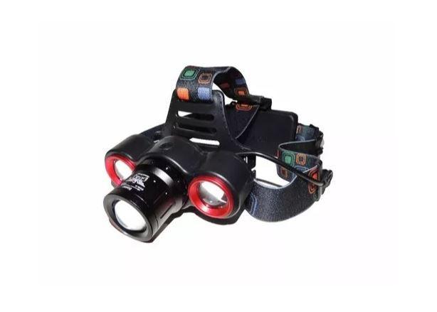 Lanterna De Cabeça Led Cree T6 Profissional Jy 8850