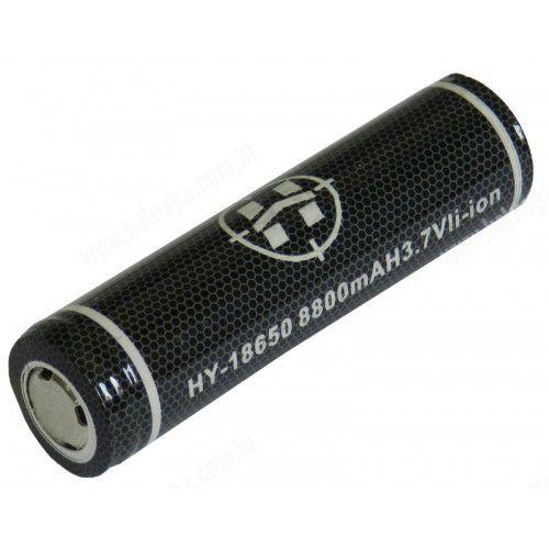 Bateria recarregável para lanternas com chip Hy-18650- 8800mah - 9600WH até 8 horas de uso