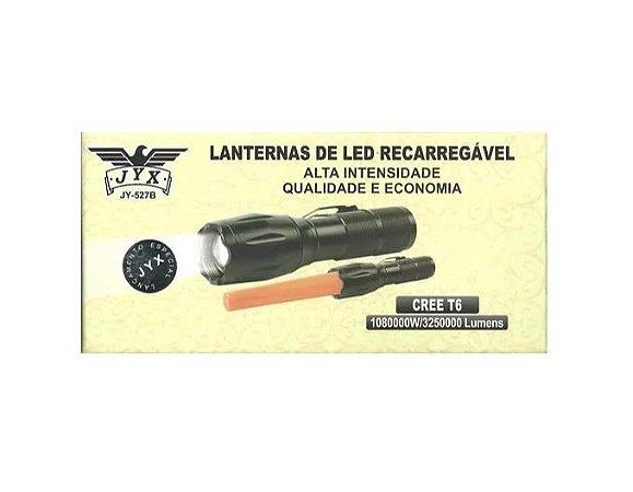 2 Lanternas ws527 Cree Led T6 Top Preta
