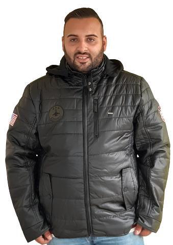 Jaqueta Gangster Masculina Plus size American