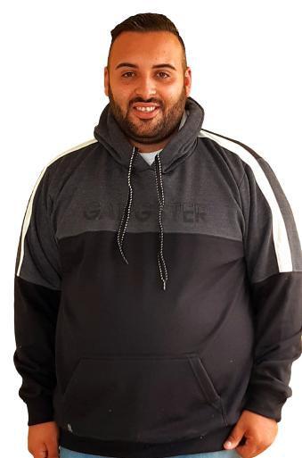 Casaco Gangster Moletom Masculino Plus Size Sometimes