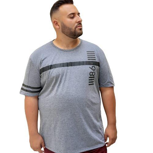 Camiseta Plus Size Masculina  Bigmen Recoded 86