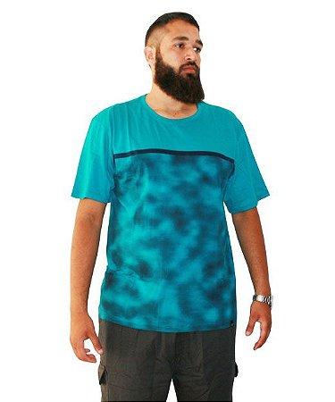 Camiseta Plus Size Masculina Camuflada